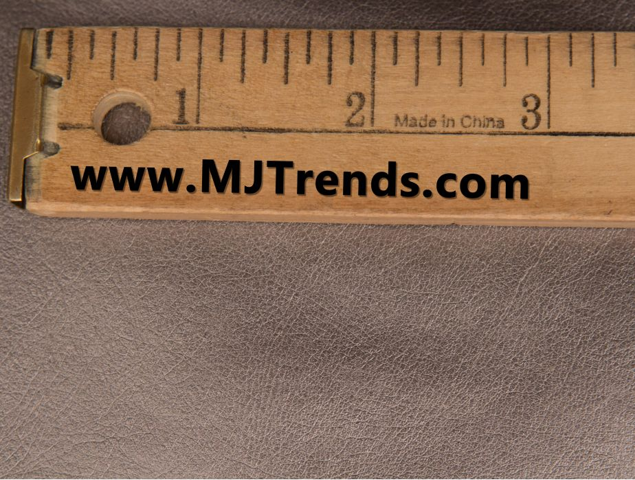 Mjtrends Gun Metal Faux Leather