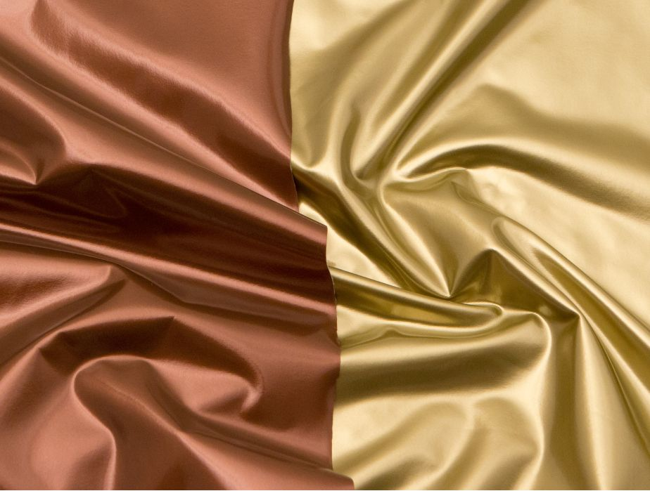 Mjtrends Metallic Bronze Vinyl Fabric