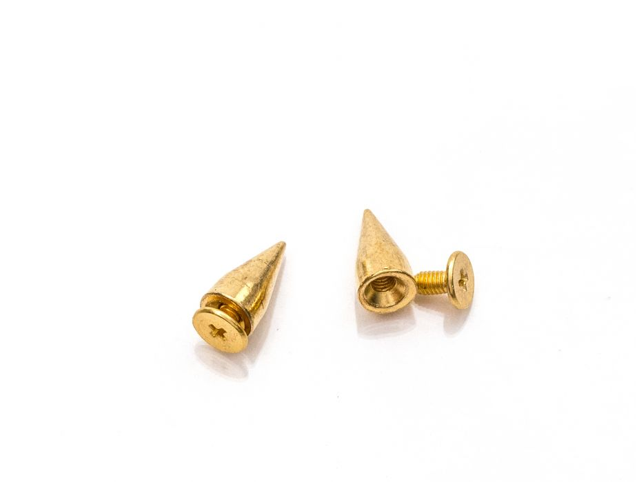 Mjtrends Gold Cone Spike