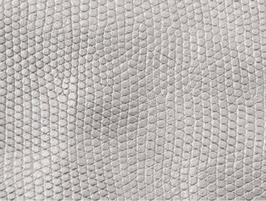 Mjtrends Snakeskin Fabric Metallic Silver