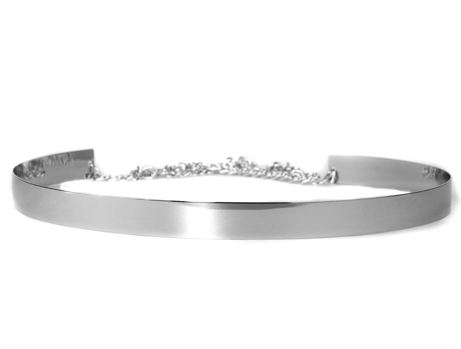 MJTrends: Thin Silver Belt