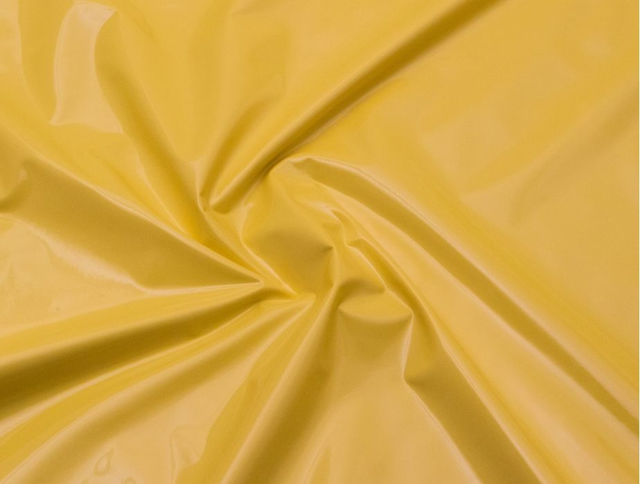 Mjtrends Stretch Pvc Fabric Yellow